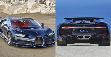 【寶石藍】破百只需兩秒半,加速皇者Bugatti Chiron