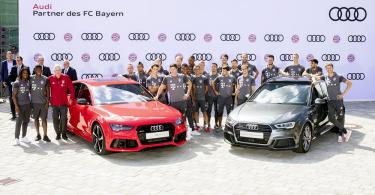 【豪花2000萬】德甲王者拜仁慕尼黑球員獲班主送贈最新Audi車系