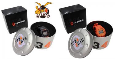 【應援粉絲必搶】限量2000枚82週年讀賣巨人 x G-Shock DW-5600 黑橙雙色紀念版手錶