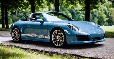 【限時發售】經典重塑Porsche 911 Targa 4S Exclusive Design Edition