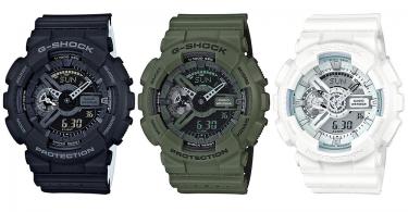 【打孔變調】夏日透氣設計全新G-Shock Punching Pattern Series手錶