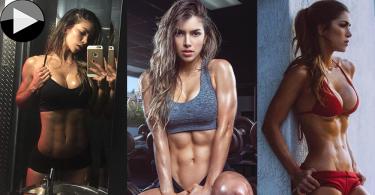 哥倫比亞第一健身女模,爆肌運動過程全公開