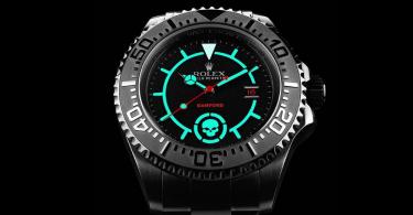 【暗黑潛行】Bamford Watch Department黑魂時計Rolex Deepsea Black Ops