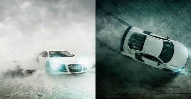 【真真假假】微縮攝影大師用玩具車拍出超迫真Audi R8廣告照