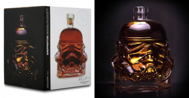 【星戰迷真藏】Storm Trooper白兵頭盔威士忌酒瓶