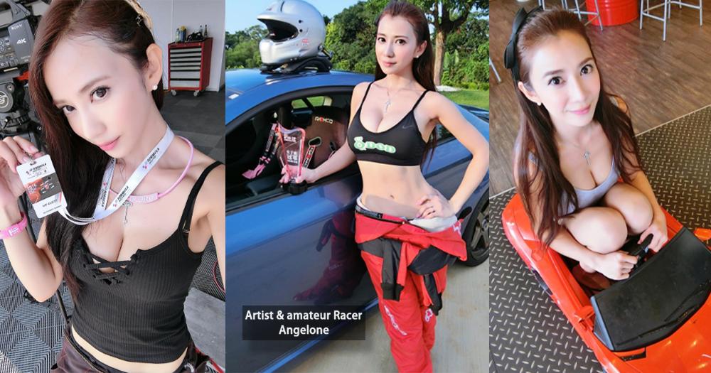 她是台灣最美賽車手,有外型更有獎盃!