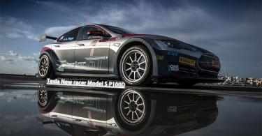 0到100破百加速2.1秒!Tesla Model S極快的純電賽車!