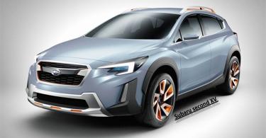 乘勝追擊!Subaru二代XV造型曝光!