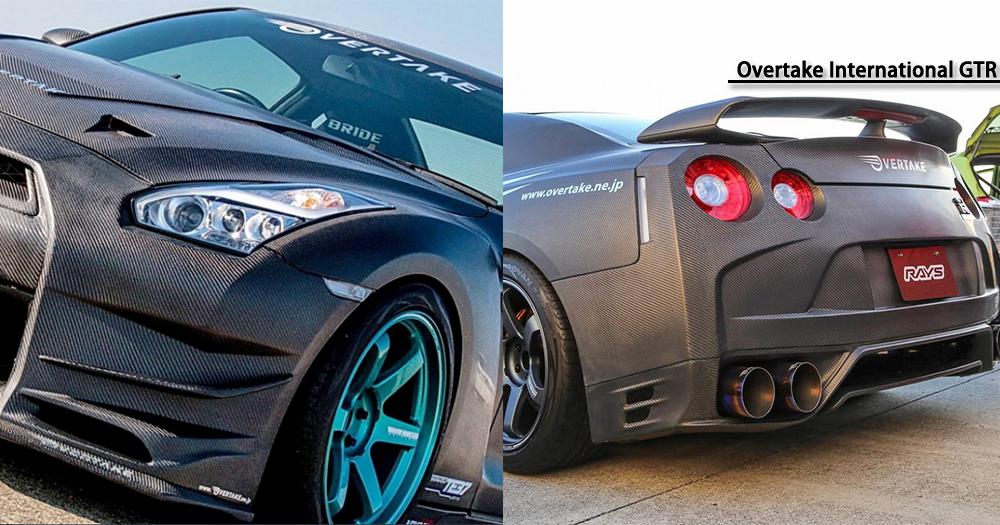 透明引擎蓋!OverTake全新「可見式」GTR!