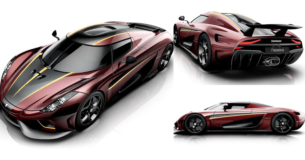 統治瑞典的神獸!Koenigsegg客製化暗紫「Regera」!