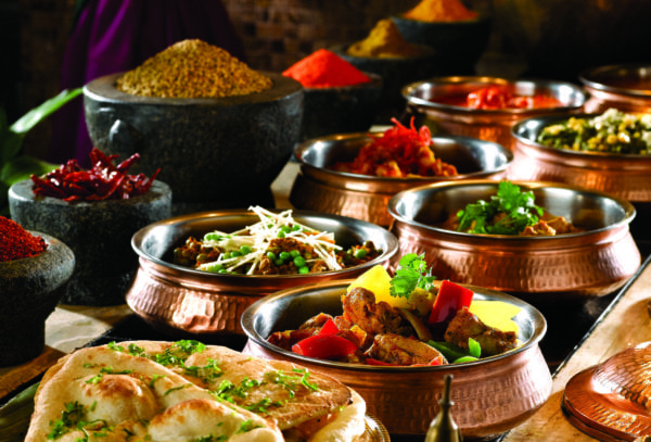 Indian Cuisine Counter (cropped)
