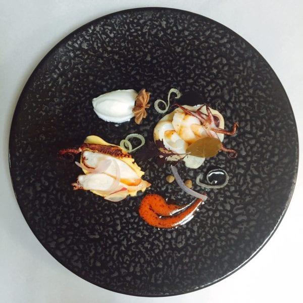 Octopus with Santorini's fava_2