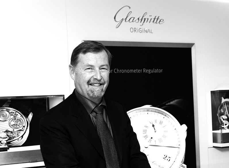 Interview: Glashütte CEO Yann Gamard