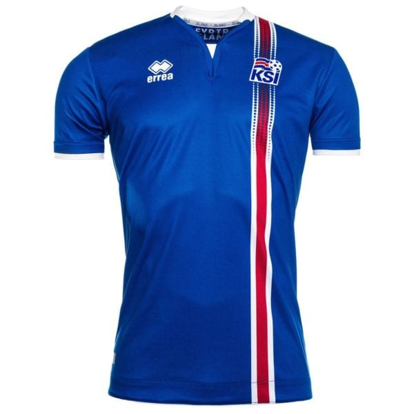 Errea's jersey for Iceland