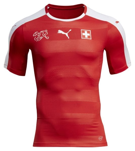 PUMA's Jersey for Switzerland