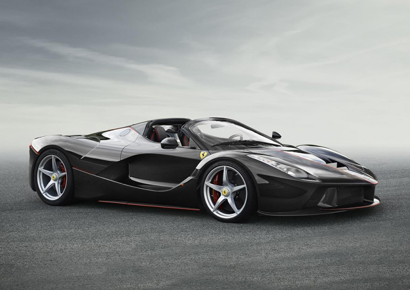 First Look: Ferrari LaFerrari Spider