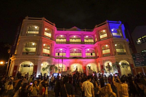 Singapore Night Festival at the Peranakan Museum