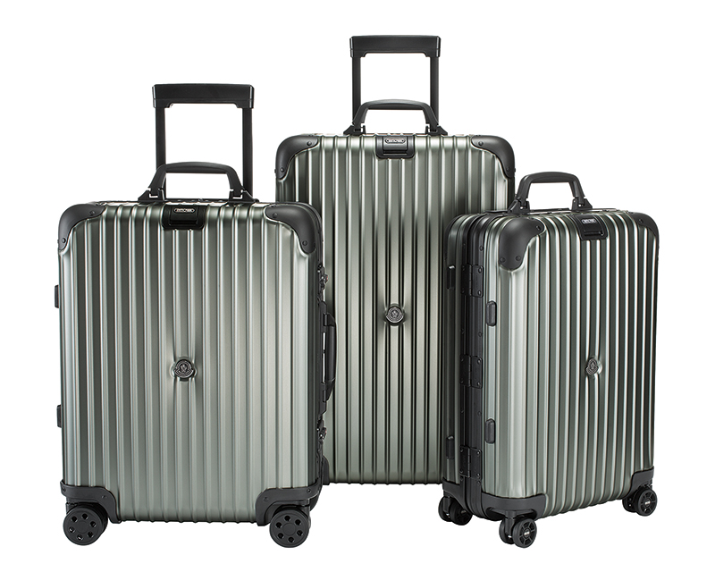 Moncler and Rimowa Collaborate On High-Tech Luggage