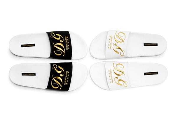 7c4a5d5cf67 The Coveted Fall Winter 2017 Dolce   Gabbana Pool Slides Will Be ...