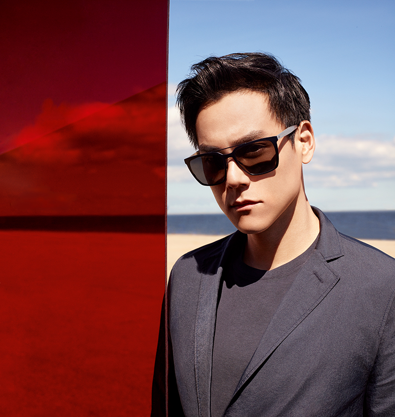 Taiwanese actor Eddie Peng stars in HUGO Boss Eyewear Spring/Summer 2017 campaign