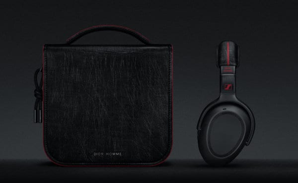 Daily Solution PXC_550 Sennheiser X Dior Homme headphone and Dior Homme pouch