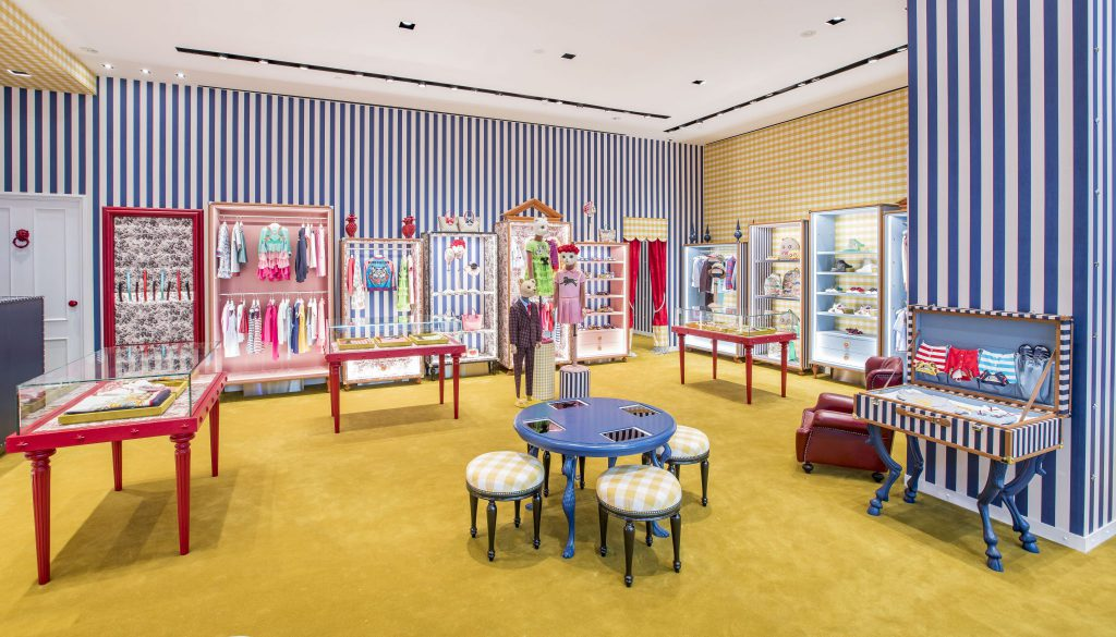 Gucci Launches New Kids Concept Store At Marina Bay Sands, Singapore