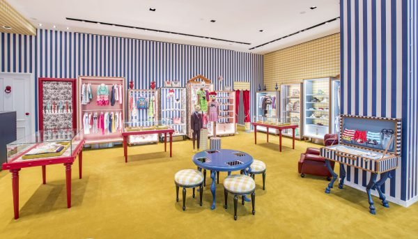 GUCCI CHILDREN STORE AT MARINA BAY SANDS SINGAPORE