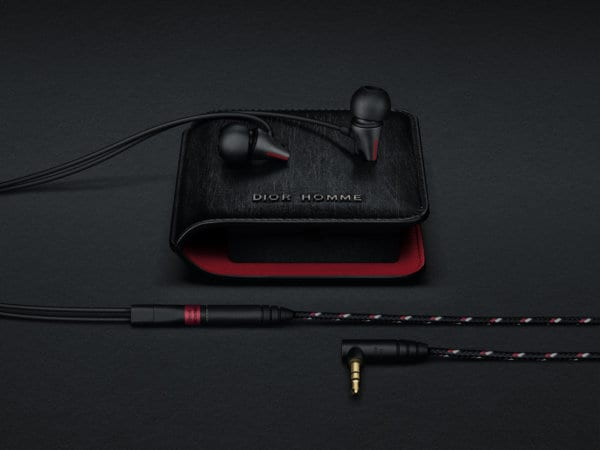 IE_800 Sennheiser X Dior Homme hearphones with Dior Homme case