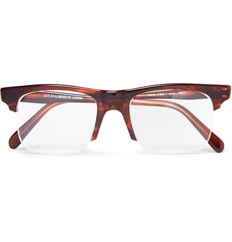 Kingsman + Cutler X Mr Porter And Gross Optical Glasses