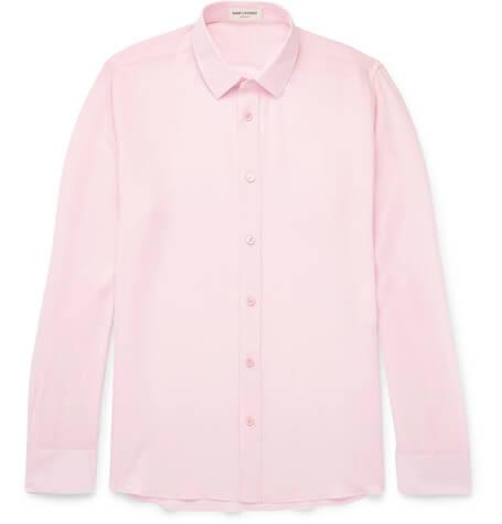 Saint Laurent Pink Shirt
