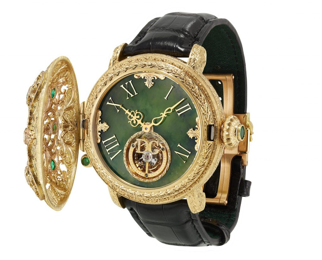 Dolce & Gabbana's one-of-a-kind timepieces embody Baroque opulence and Italian craftsmanship