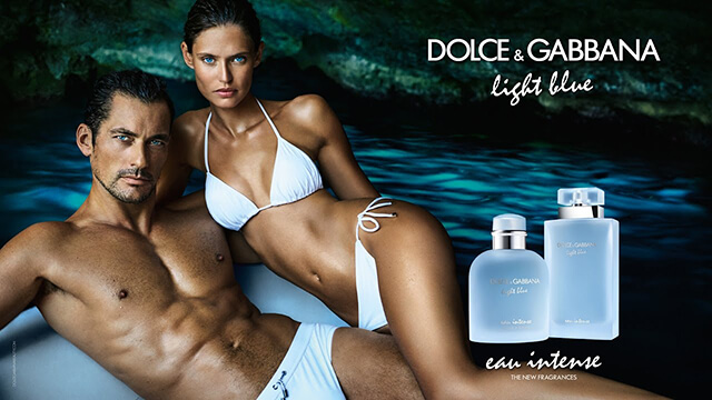 Check out this sizzling David Gandy ad for Dolce & Gabbana's Light Blue Eau Intense
