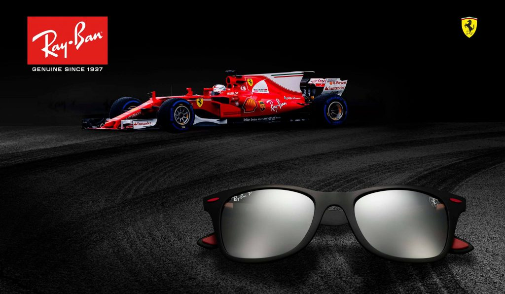 8f3ee70fa8 Ray-Ban and Scuderia Ferrari join forces for the ultimate range of high-tech