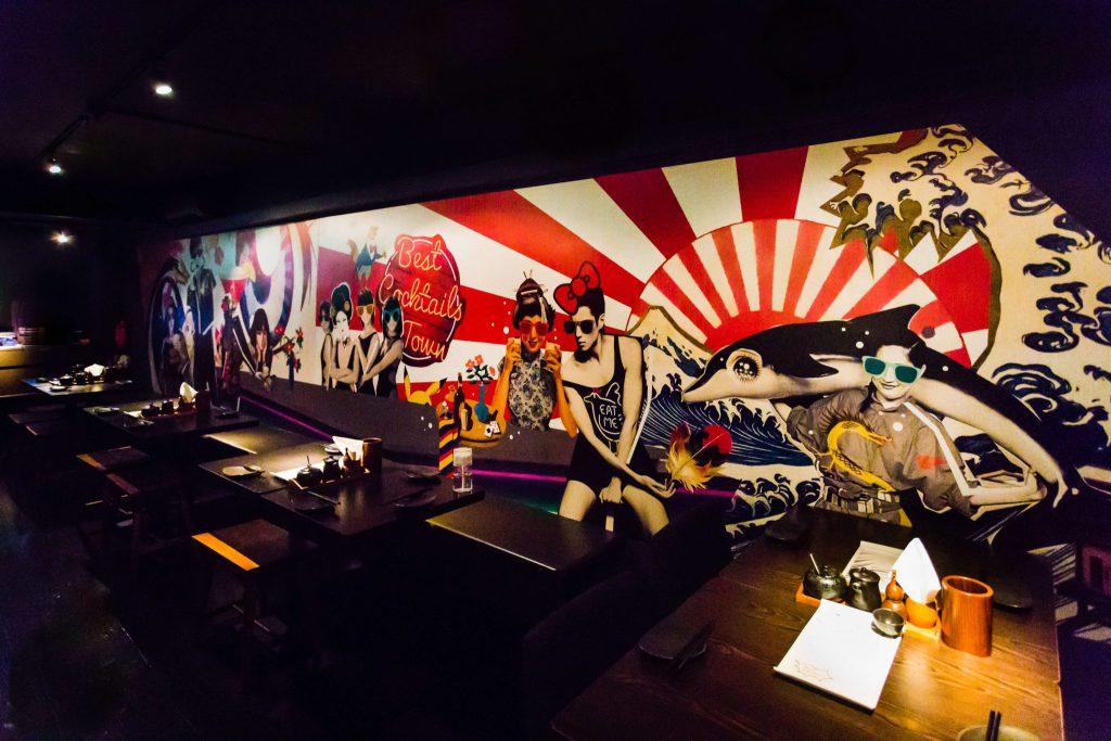 Chikin: Japanese pop-art meets Yakitori-bar