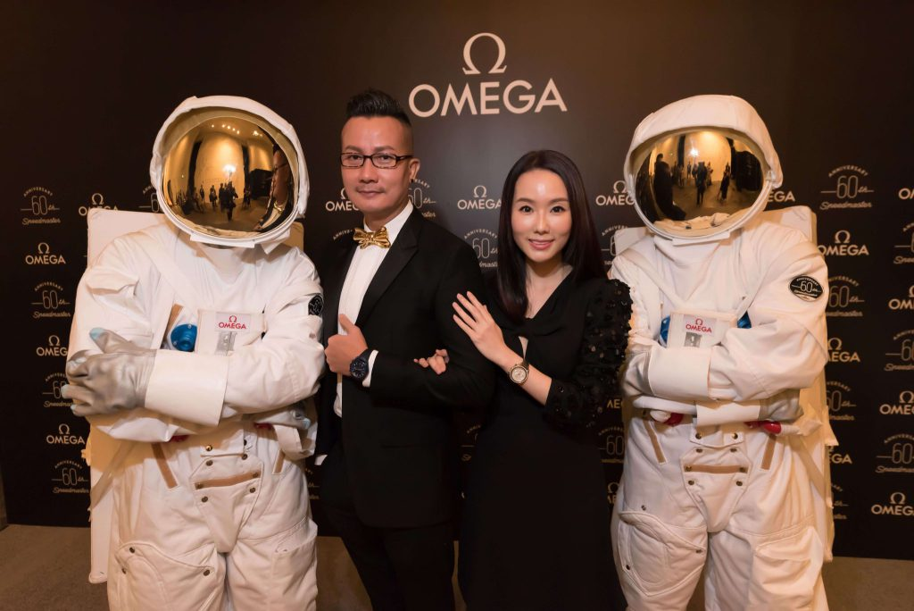 OMEGA travels through time and space to celebrate six decades of the iconic Speedmaster