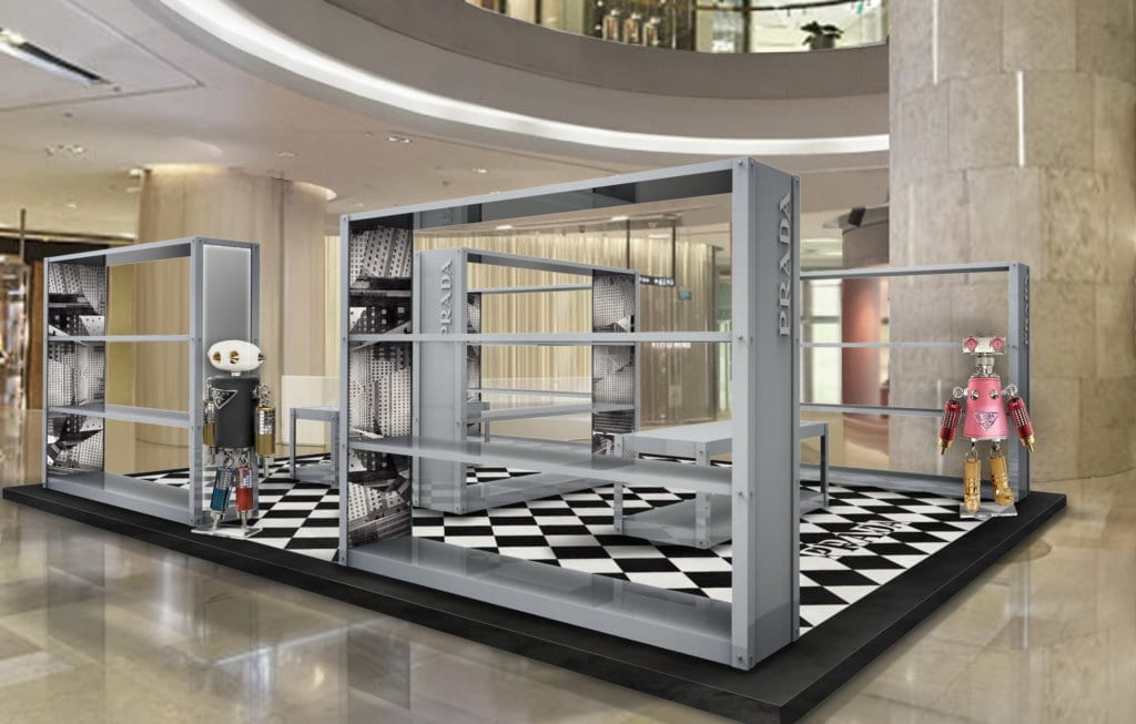 Prada's Ion Orchard pop-up is dedicated to its timeless Nylon Vela