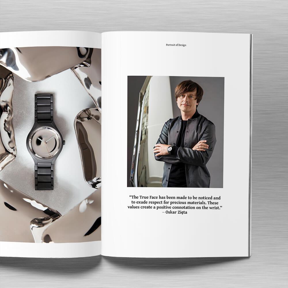 Mirror World: Rado X Architect Oskar Zieta