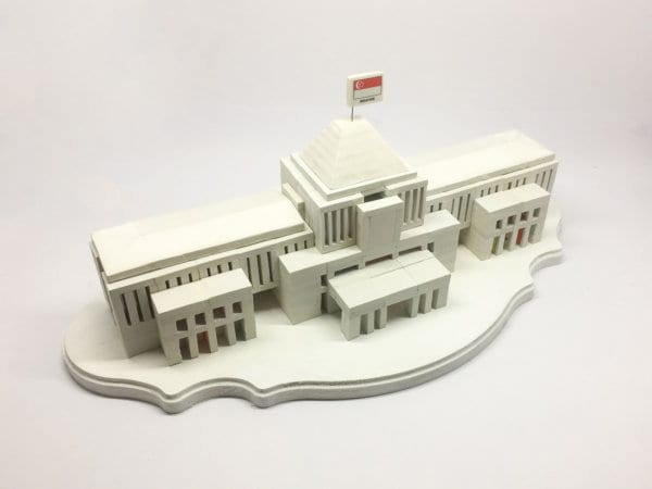 4. Yom Bo Sung_Eraser Building Parliment House_2016_Found object sculpture_ed1_60x30x30(cm)_S$1200