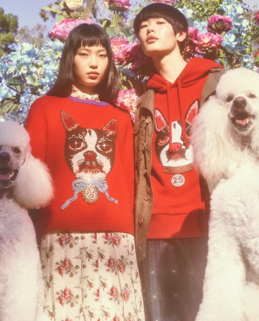 Gucci celebrates the Year of the Dog with Bosco and Orso