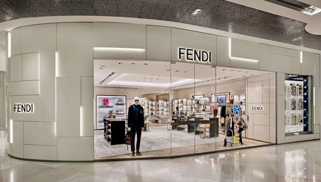 A Closer Look at Fendi's New ION Orchard Store