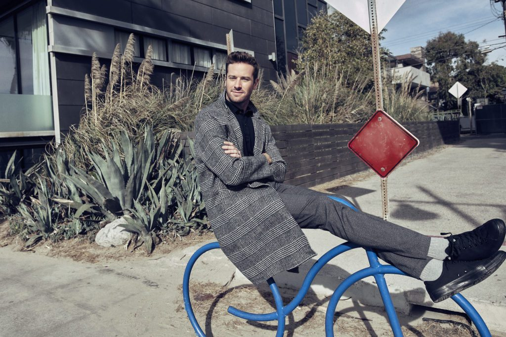 Peachy Times Ahead with Armie Hammer