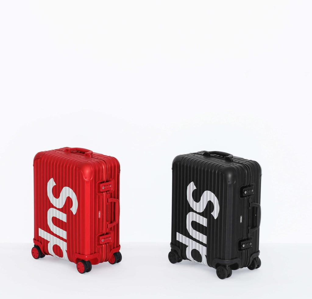Supreme Collaborates with Rimowa to Release Two Luggages