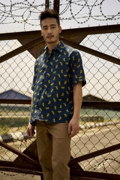 Joshua Kua wearing Fendi