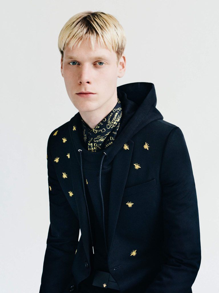 Take A Look At Dior Homme's Gold Capsule Collection