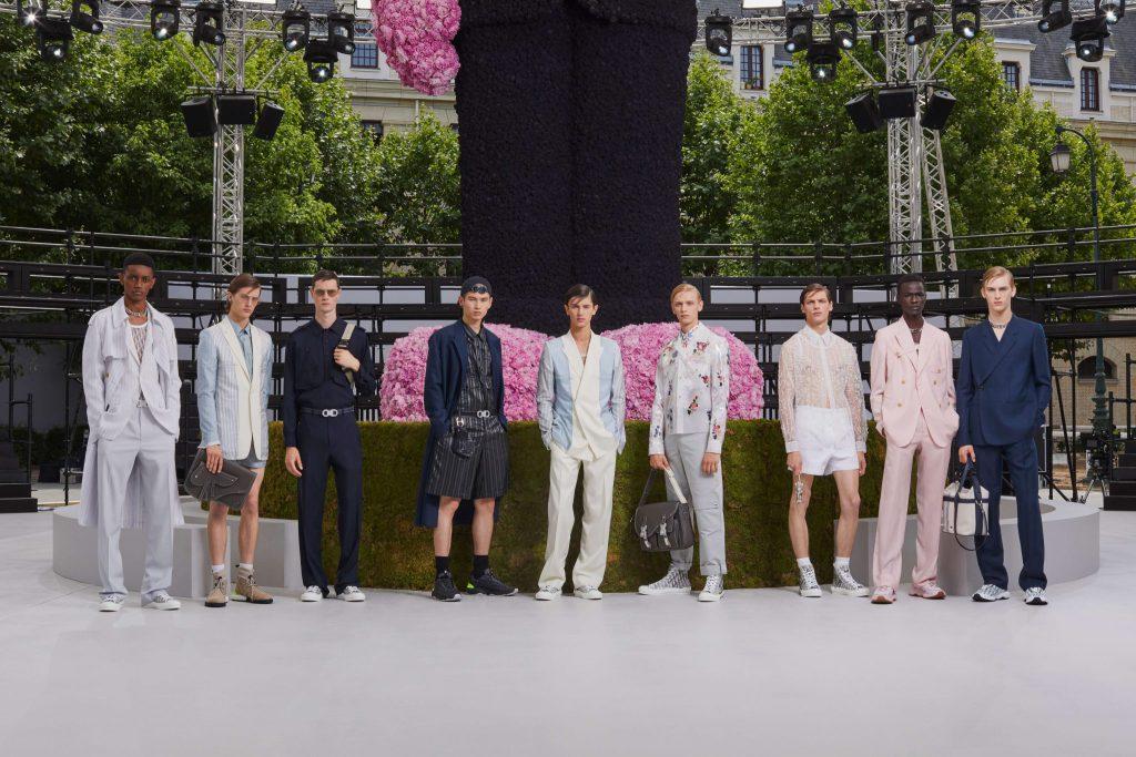 Kim Jones' Dual Dior Tribute