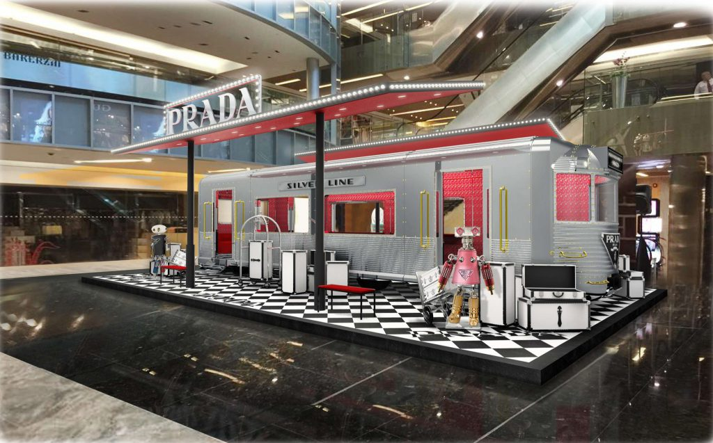 Prada Silver Line Chugs its Way into Paragon