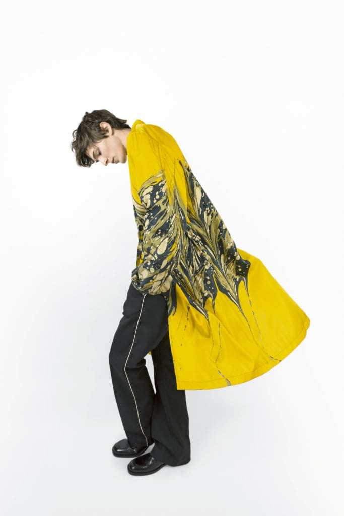 Limited Stock Dries Van Noten Marble Coats Available in Singapore