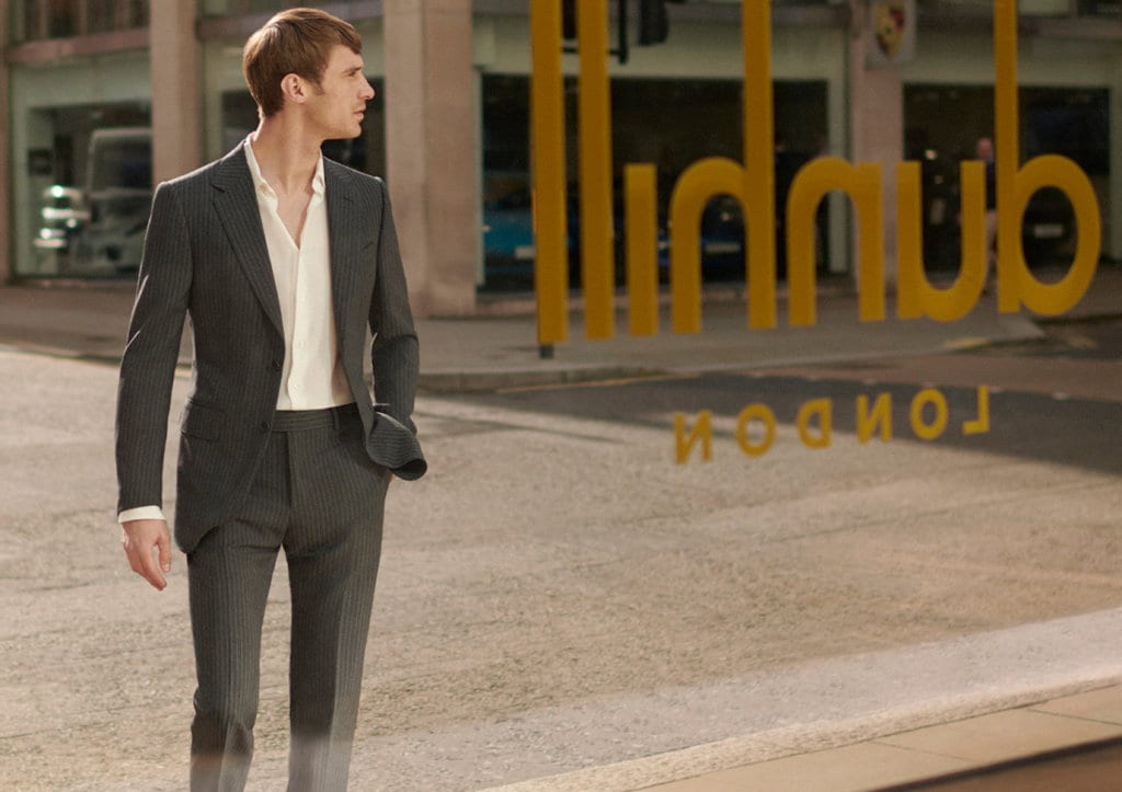 Weston Debuts Autumn/Winter'18 Campaign for dunhill