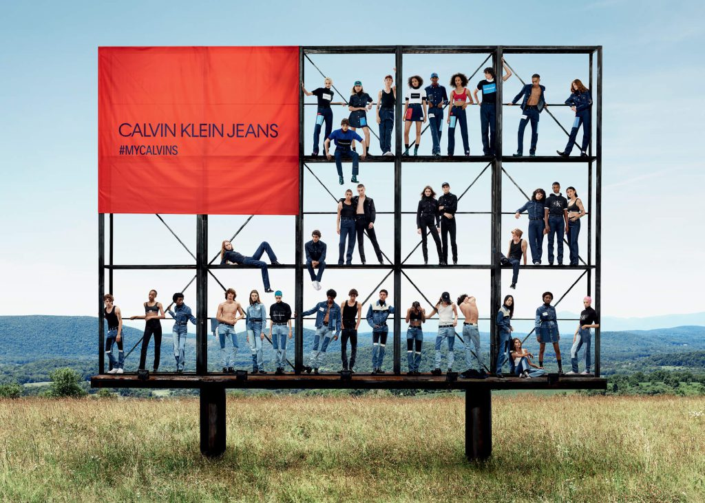 CALVIN KLEIN JEANS FW'18 Campaign Evolves with America