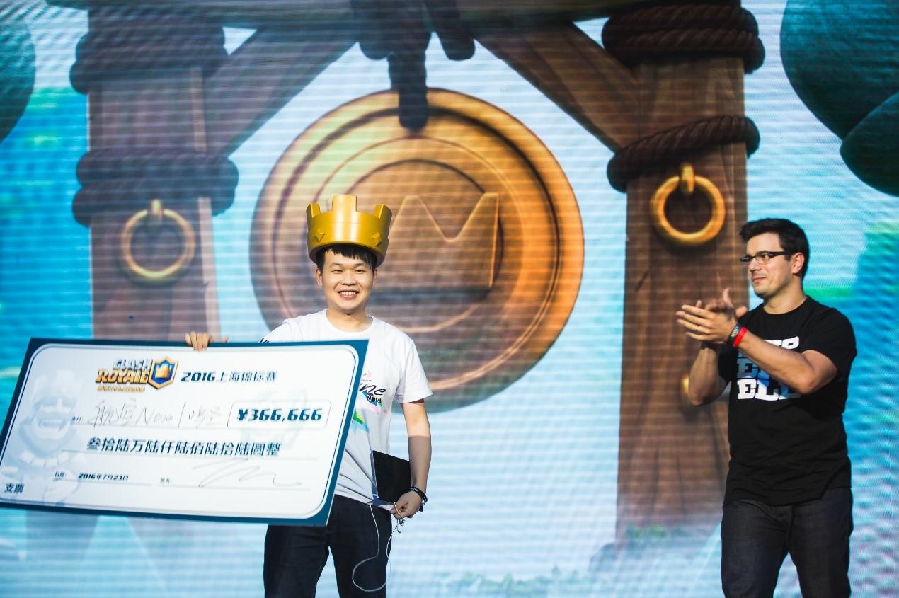 皇室战争上海锦标赛圆满结束鸣圣再夺冠军